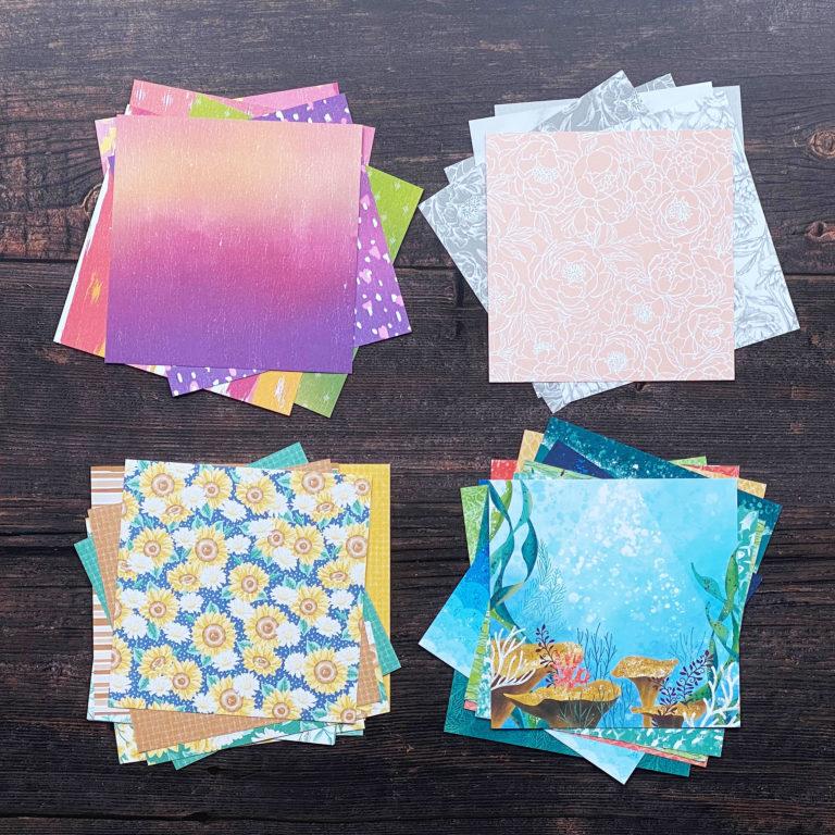 Designerpapier-Musterpakete 2020 1