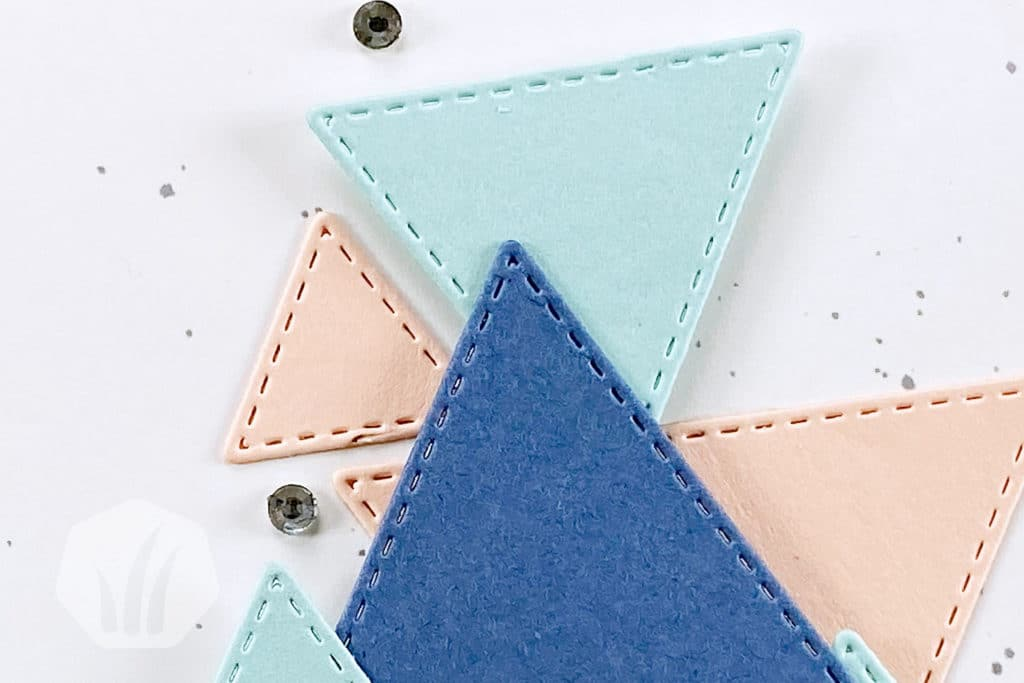 Youre Amazing Triangle Karte Detail Dreiecke