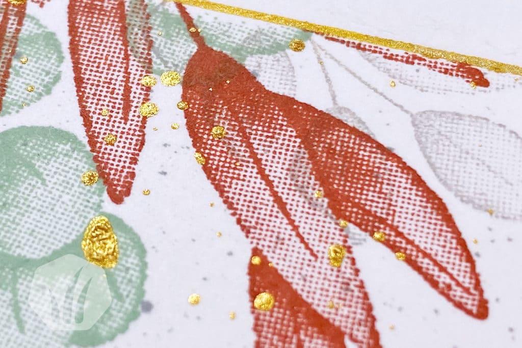 Geburtstagskarte oder Hochzeitskarte: Für alle Zeit Blatt