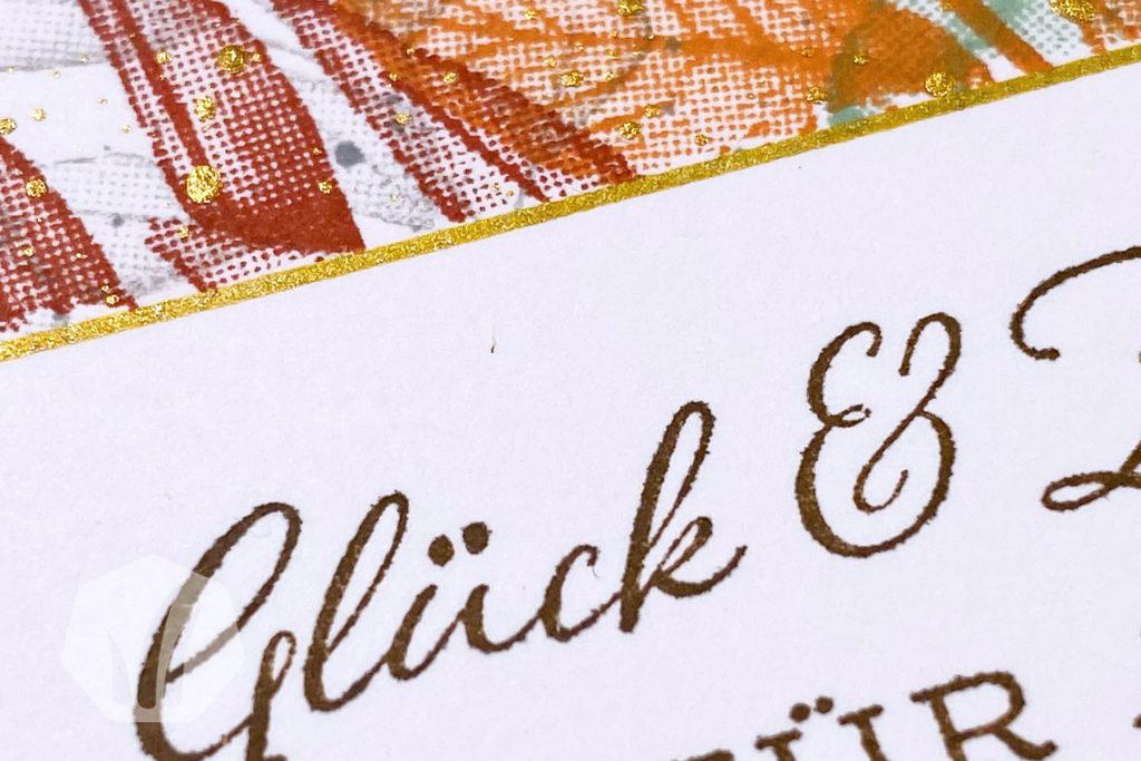 Geburtstagskarte oder Hochzeitskarte: Für alle Zeit Text