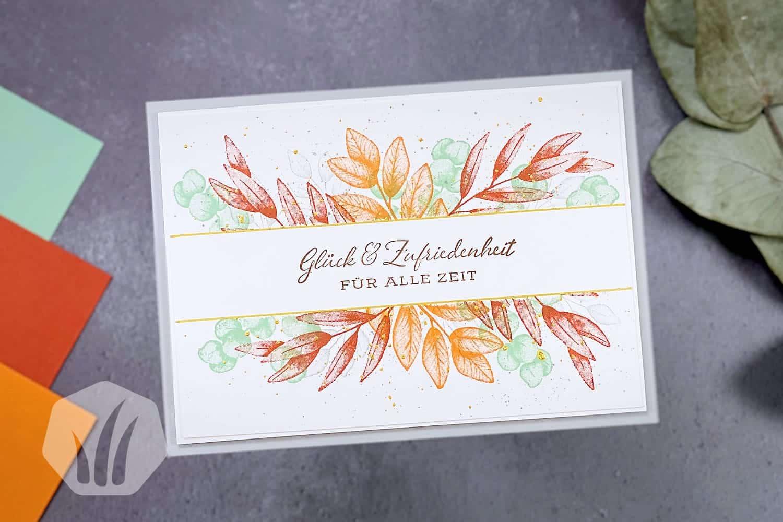 Geburtstagskarte oder Hochzeitskarte: Für alle Zeit
