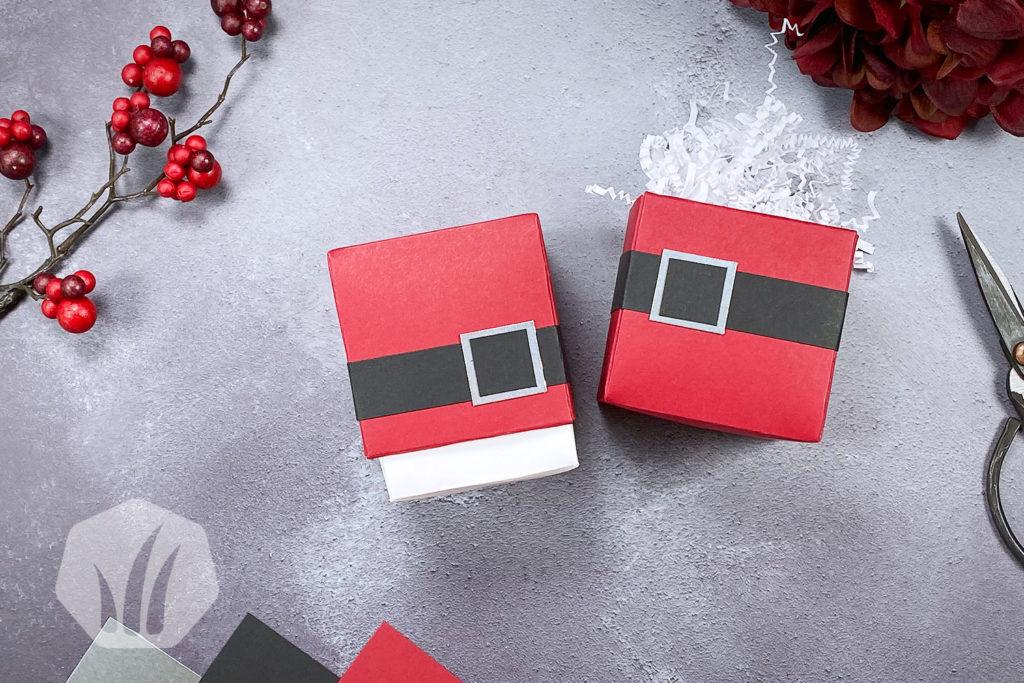 Santa Claus Box Origami