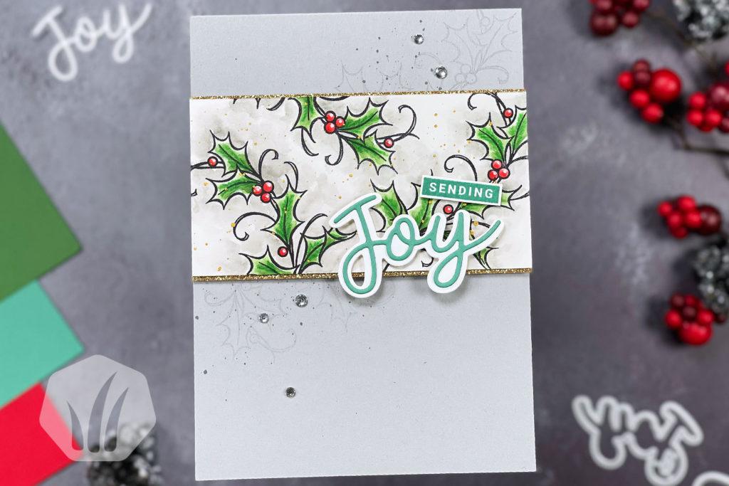 Sending Joy Weihnachtskarte
