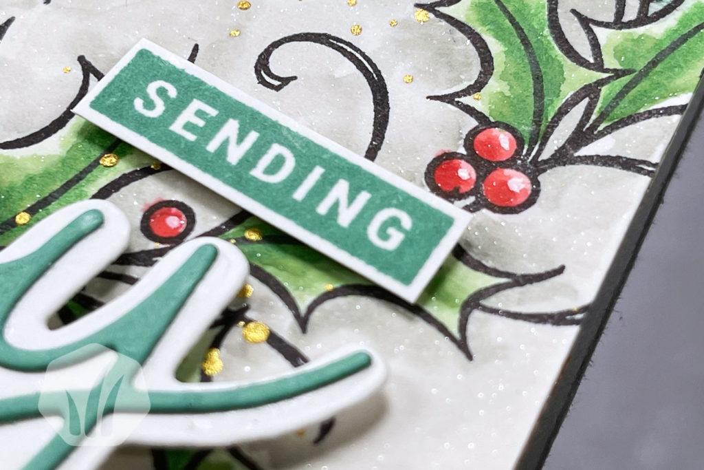 Sending Joy Weihnachtskarte Text