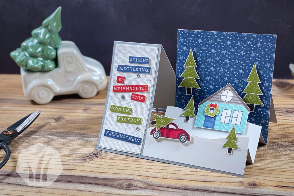 Stufenkarte Weihnachten