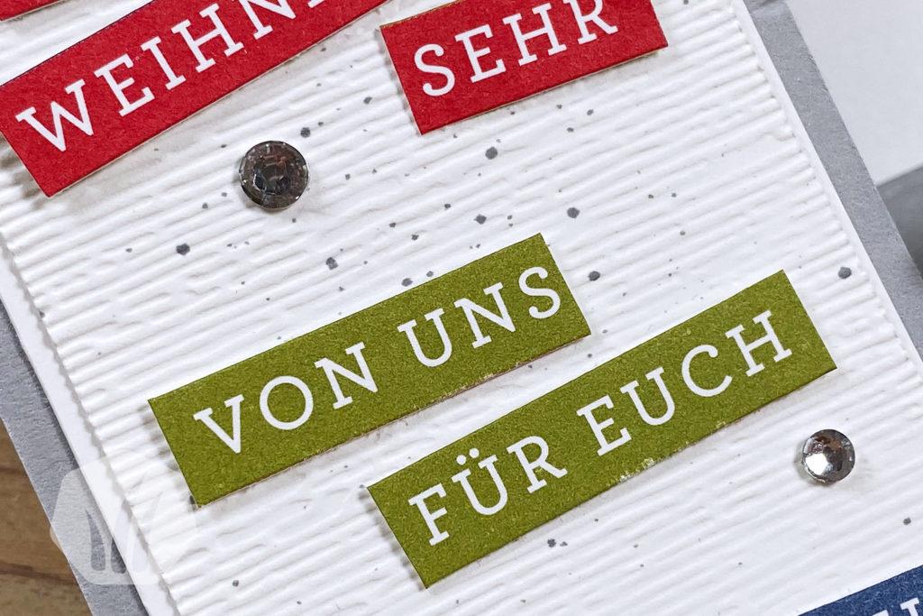 Stufenkarte Weihnachten Text