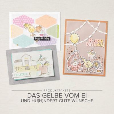 Produktpakete: Das Gelbe vom Ei und hu(h)ndert gute Wünsche