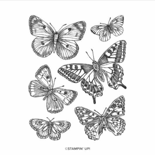 Stempelset Butterfly Brilliance