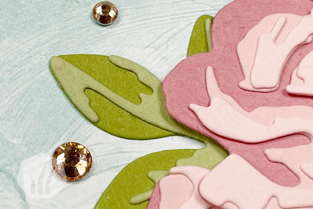 Romantische Grußkarte: Wie gemalt, Rose