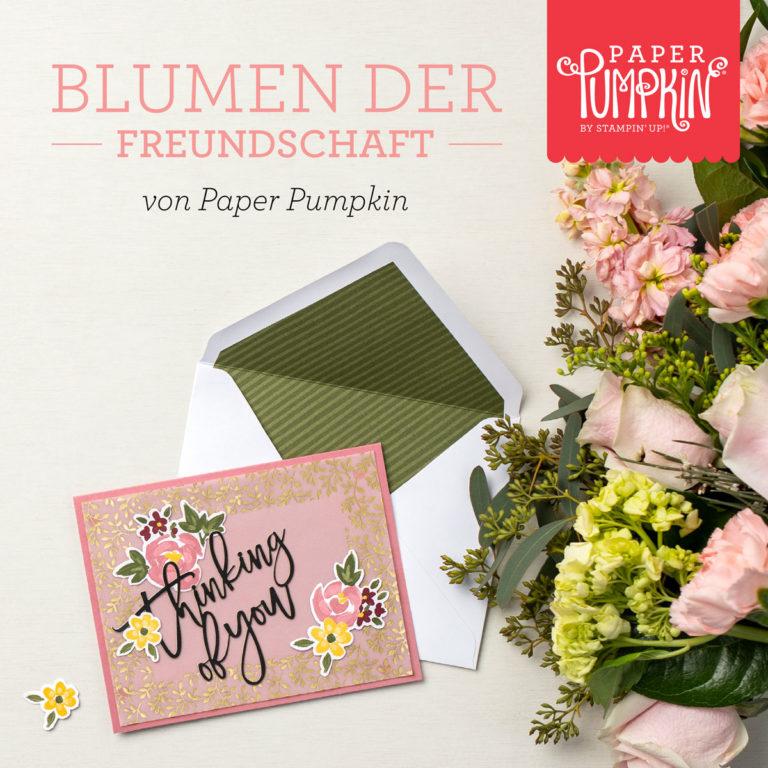 Paper Pumpkin Box: Blumen der Freundschaft