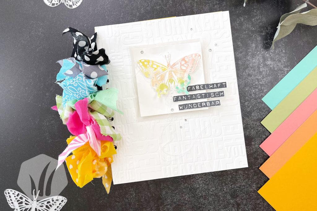 Minialbum Regenbogen Titelseite