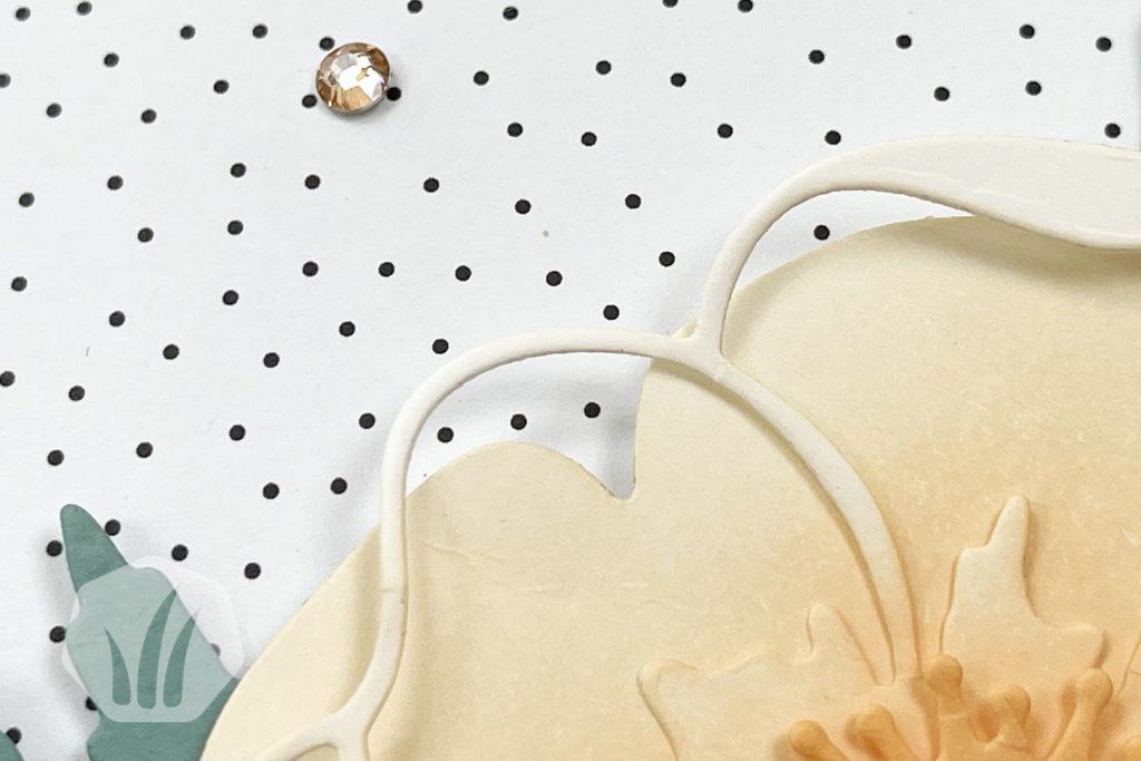Popup Muttertagskarte, Detail Strass