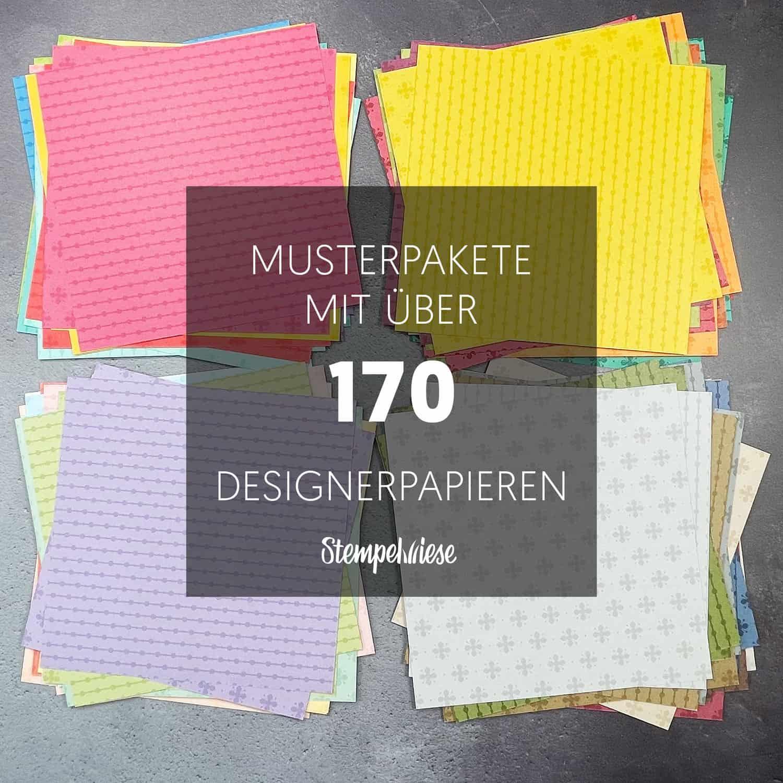 stampin up designpapier musterpakete 2021 werbefoto farbfamilien insta