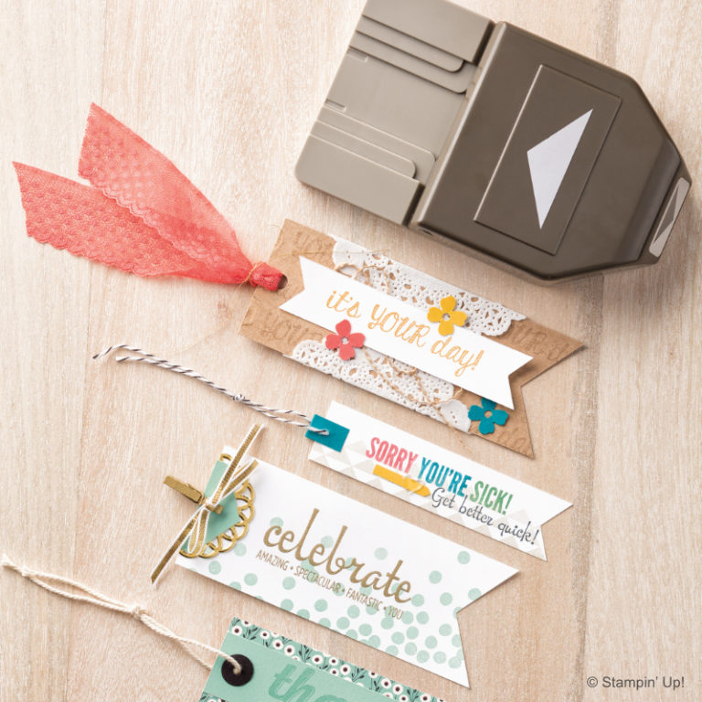 Stampin' Up! Label-Stanze