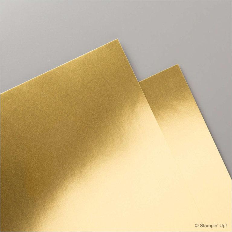 Stampin' Up! Metallic Folienpapier