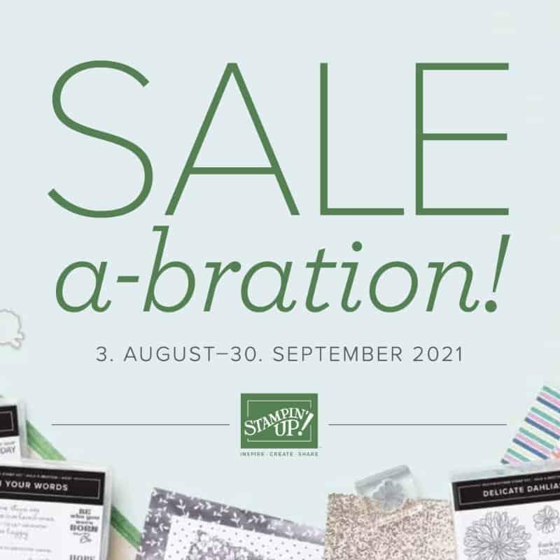 Sale-A-Bration 2021 August - September